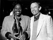 With Marcia Hines