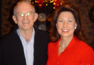 With Margaret Downey