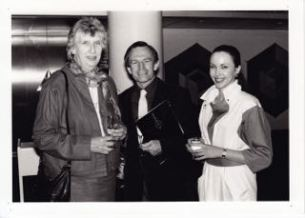 With Margaret Whitlam and Christine Walsh