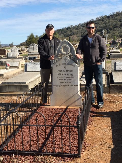 Annie's grave